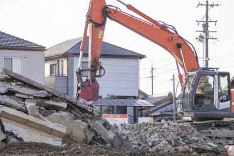 家屋の解体・建て替え