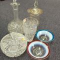 西洋アンティーク ガラス製品買取致しました